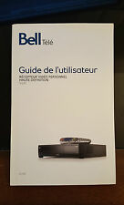 BELL EXPRESSVU 9241 PVR RECEIVER USER GUIDE INSTRUCTION