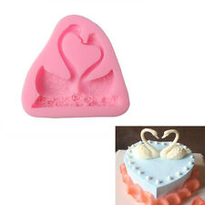 3D Diy Swan Silicone Fondant Mold Cake Chocolate Decoration Baking Mold Tools