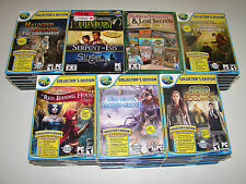 lot of 23 HIDDEN OBJECT SEEK & FIND (PC GAMES)  *NEW*  LOW PRICE +FREE SHIPPING