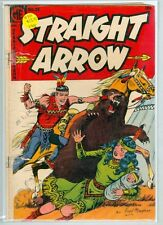 Straight Arrow #38 April 1954 G/VG Ghost Rider ad Inside Front Cover