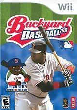 Backyard Baseball 09 2009 COMPLETE OKAY Nintendo Wii