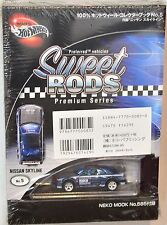 HOT WHEELS 100% SWEET RODS JAPAN EXCLUSIVE NISSAN SKYLINE