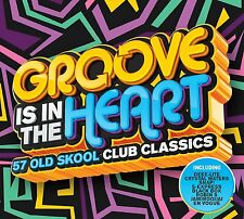 GROOVE IS IN THE HEART 3CD ALBUM (57 Old Skool Club Classics) (September 2 2016)