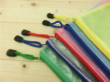 A3 Plastic Zippy Bags Zip File Storage Document Folder Protective Wallet Sleeve!