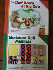 2 Grand Kidz Books The Chef Down at the Zoo & Miniature Golf Madness Kate Jerome
