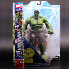 "12""Marvel Elite The Hulk Action Figure AGE Titan Avengers Diamond Select Toy Box"