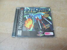 Raystorm PlayStation 1 PS1 Game – Complete w/ Case/Manual