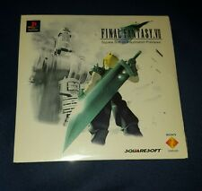 Final fantasy vii 7 ff7 demo sealed ps1 Playstation tactics saga Frontier RARE