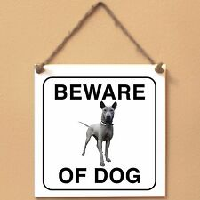 Thai Ridgeback 0 Beware of dog ceramic tile sign targa piastrella cane