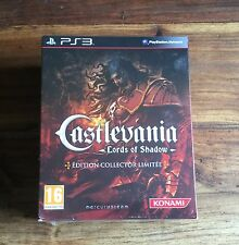 CASTLEVANIA LORDS OF SHADOW Édition Collector Playstation 3 PS3 Neuf Blister