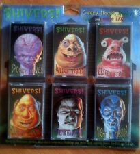Shivers 6-PACK: CLASSIC HALLOWEEN SOUNDS, STORIES & SONGS 1996 PETER PAN RECORDS