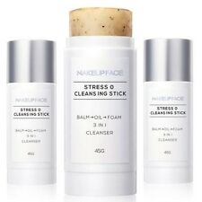 Stress Zero Cleansing Stick Foaming Cleanser 3Step Transformation Facial Wash