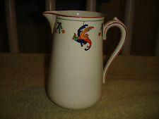 Vintage S. Hancock & Sons Stoke On Trent Cockatoo Pitcher-Birds-Made In England