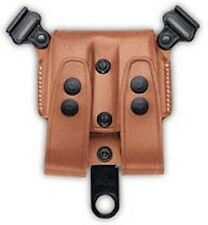 Galco SCL Mag Case For System Tan .45 Double Stack Mags SCL28