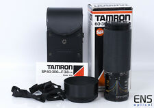 Tamron SP 60-300mm F3.8-5.4 Adaptall 23a Zoom Lens