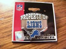 Property of Detroit Lions lapel pin NFL