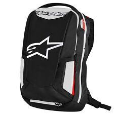 Alpinestars City Hunter Aerodynamic Motorcycle Riding Backpack Black/White/Red