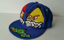 Angry Birds hat Youth Flat Brim Blue Exclusive 2012 Rovio cap