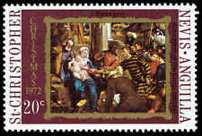Scott # 254 - 1972 - ' Adoration of the King '