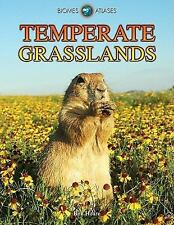 Temperate Grasslands (Biomes Atlases (Raintree Hardcover))-ExLibrary