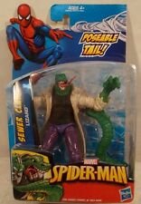 "Marvel Universe 3.75"" Spider-Man Sewer Clash Lizard Hasbro (Mint On Card)"