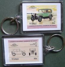 1929 CHEVROLET International Six Car Stamp Keyring (Auto 100 Automobile)