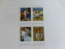 United States Scott #3804-7 Mary Cassatt  Block of 4 From Pane 3807b