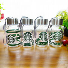 Small Mini 145ML New Starbucks Water Bottle Glass Coffee Mug Drinking Cup