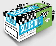 CAJA SCALEXTRIC 8 MODELOS A ELEGIR / REPRO/ SCALEXTRIC BOX 8 MODELS