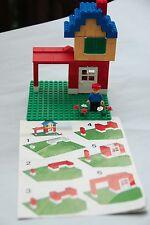 Vintage Complete 544 LEGO Universal Building Set + Minifigure house city