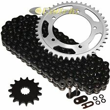 Black O-Ring Drive Chain & Sprockets Kit Fits SUZUKI GSX-R600 GSXR600 2006-2010