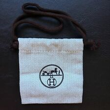 "Hermes Drawstring Mini Dust Bag for Belt Buckles or More 3.5"" x 3.6"""