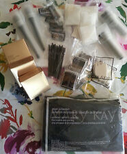 Lot of 43: Mary Kay Anniversary Mini Compacts Brushes Sponges & more!  FREE SHIP