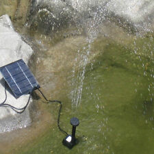 Solar Power Water Pump Panel Kit Fountain Pool Garden Submersible Watering GAOO9