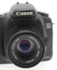 Canon EOS Fit 50mm f1.8 PRIME BRILLANTE Lente Per Digitale Dslr Telecamere-S EF