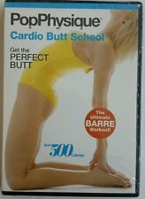 POP PHYSIQUE CARDIO BUTT SCHOOL New Sealed DVD Barre Workout