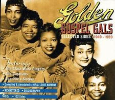 CARAVANS,THE/DAVIS SISTERS-GOLDEN GOSPEL GALS SELECTED SIDES 1949-1959 4CD NEU