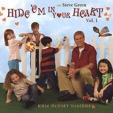 Hide 'Em in Your Heart: Bible Memory Melodies, Vol. 1 - Steve Green (CD, 2003)
