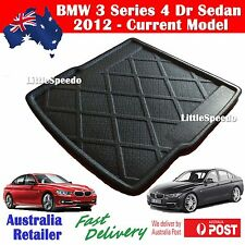BMW 3 Series F30 318 320 328 335 4 Dr Sedan Boot Cargo Trunk Liner 2012 Up Model