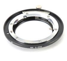 adattatore per Obiettivo Nikon G convertito a Canon EOS EF 60D 550D 7D 5D