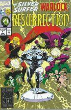 Silver Surfer/Warlock - Resurrection #1 ( Marvel 1993) STARLIN art Gamora, Drax