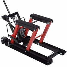 Motorcycle ATV Jack Lift Stand Quad Dirt Street Bike Hoist  1500 Lbs New