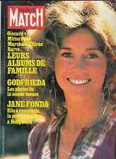 MAGAZINE PARIS MATCH N° 1502 MARS 1978 JANE FONDA HUGUES AUFRAY