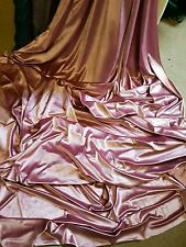 3m   DUSKY BABY   PINK STRECH VELOUR / VELVET FABRIC 58INCES WIDE