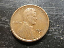 1921 S Lincoln Wheat Cent  ~ Solid Album Hole Filler Key Coin ~