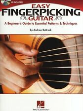 Andrew DuBrock Easy Fingerpicking Guitar Learn to Play TAB Music Book & CD