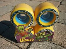 *NEW* Landyachtz Zombie Hawgs Wheels 76mm 82a Longboard Skateboard set of 4