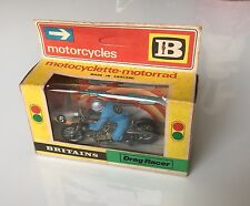 Britains Motorcycles (ref 9683) DRAG RACER MOTORCYCLE 1/32 scale