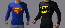 Superman & Batman Full Sleeve T-shirt - (COMBO PACK) (Size:-L) (4)