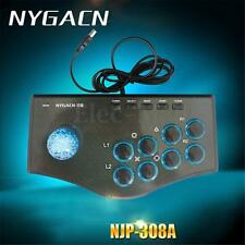 Arcade Fighting Stick Game Controller Joystick Gamepad For USB PC PS3 Android